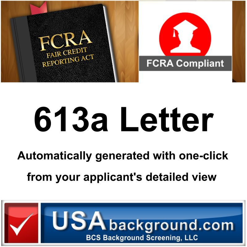 613a letter