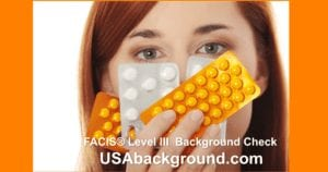 FACIS Level 3 background check