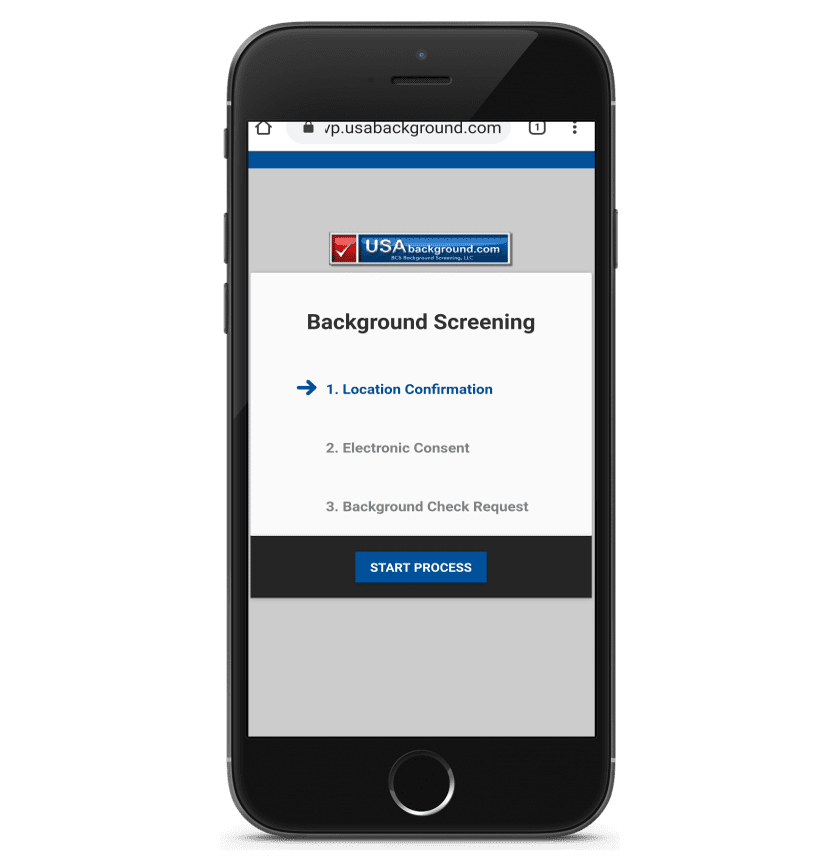 mobile background screening order